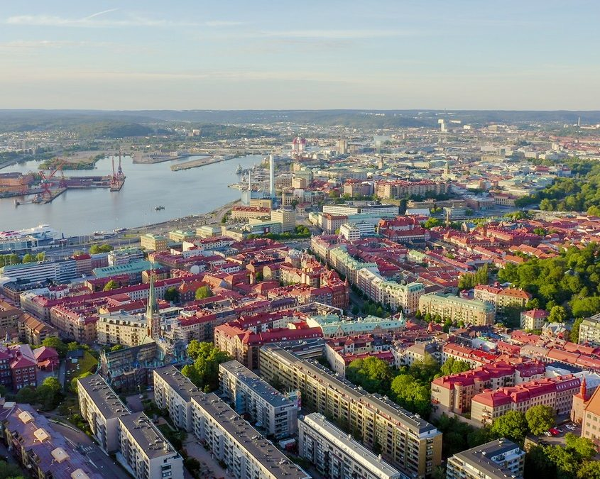 Gothenburg, Sweden Private Jet Charter